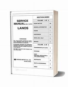 car repair manuals online free 2001 daewoo lanos interior lighting daewoo lanos service manual full eng