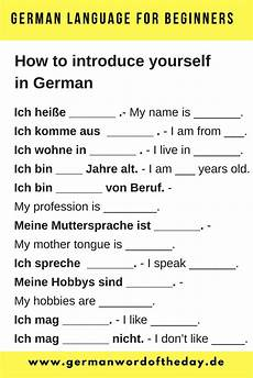talk german worksheets 19733 how to introduce yourself in german pdf εκπαίδευση αγγλική γραμματική γραμματική