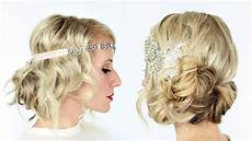 2 gorgeous gatsby inspired hairstyles youtube
