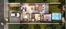 Garage 2 Niveles plano de casa moderna de dos pisos con cochera