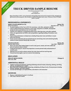 12 13 truck driver objectives for resume