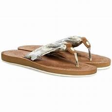 slides tom tailor 5491601 silver flip flops