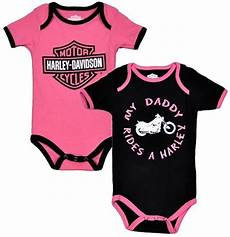 harley davidson baby clothes quot my rides a