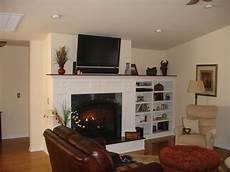 Ideas Next To Fireplace by Built In Shelving Next To Fireplace Home Project