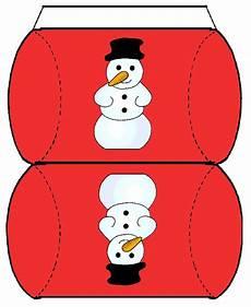 weihnachtsboxen basteln kostenlose vorlagen und