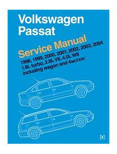 small engine repair training 1998 volkswagen passat auto manual 1998 2005 vw passat 1 8l turbo 2 8l v6 4 0l w8 wagon 4motion service manual