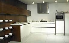 küchen modern l form l form k 252 che luxio mx in wei 223 und dunklem holz