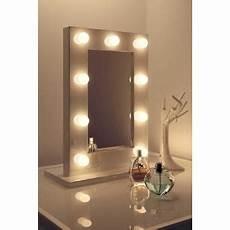 24 sur miroir de maquillage blanc les led
