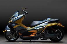 Modifikasi Honda Pcx 2019 by Pcx Robot Inspirasi Modif Honda Pcx Lebih Garang Dan