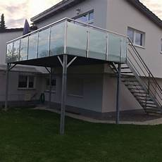 Stahlbalkon Anbaubalkon Balkon Terrasse Gel 228 Nder