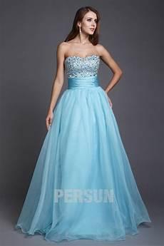robe de bal robes 233 l 233 gantes robe de bal princesse bleu
