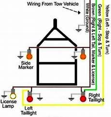 Trailer Light Wiring Harnes Diagram by Trailer Running Lights But No Brake Lights Or Turn Signals