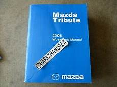 free service manuals online 2006 mazda tribute interior lighting 2006 mazda tribute service manual oem ebay