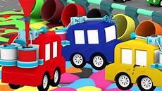 4 Kleine Autos - lehrreicher zeichentrickfilm die 4 kleinen autos das