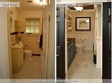 diy bathroom remodel before after