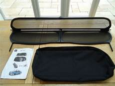 windschott peugeot 207 cc genuine peugeot 207cc 207 cc wind deflector in calcot