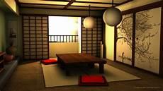 3d traditional japanese room by niraeika on deviantart