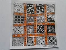 Wish I Could Sew Like This Drawing Zentangle Muster