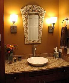 Bathroom Mirrors Mosaic by Mosaic Bathroom By Chris Zonta Mirror And Sink Top Are