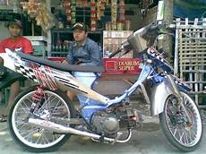Shogun 110 Modif Sederhana by Syap Dewa Shogun 110