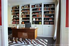 Office Bookshelves home office with new built in bookcases our fifth house