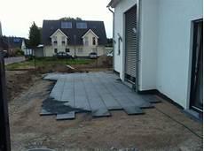 terrassenplatten auf treppe verlegen kasia irek wir bauen unser traumhaus terrasse zaun