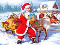 santa claus 3d pictures beautiful wallpapers collection 2014
