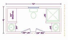 Bathroom Floor Plans 6 X 8 by Bathroom Plans Views