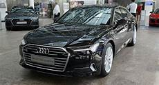 2019 Audi A6 Shows Up At The Forum Wearing Mythos Black