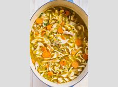 classic homemade chicken soup_image