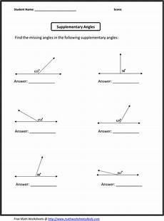 geometry angle worksheets pdf 617 supplementary angles math worksheets free math worksheets printable math worksheets