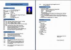 resume format kerajaan resume format