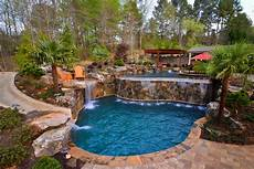 Garden And Pools - swimming pool landscaping ideas hgtv