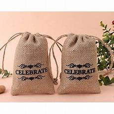 usa sales burlap drawstring gift bags wedding favor pouches 4 6 count 10pcs by usa