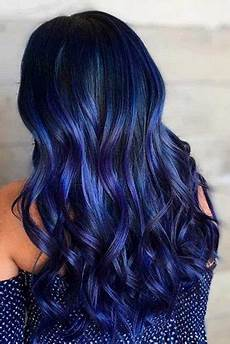 dark midnight blue hair blue hairstyles for women blue hair ideas 2020 ladylife