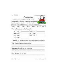 contractions worksheet contraction worksheet have fun teaching teaching