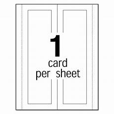 large embossed tent card white 3 1 2 x 11 1 card sheet