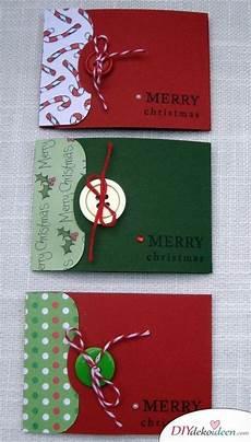 40 originelle weihnachtskarten basteln gru 223 karten