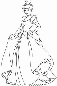 Malvorlagen Princess Free Coloring Pages Disney Princess Cinderella For