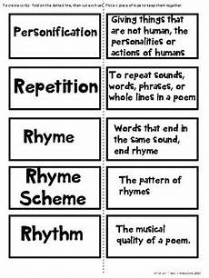 poetry elements worksheets 25266 poetry elements cards free by rockin resources tpt
