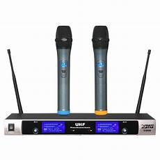 Professional Channel Cordless Handheld Wireless Microphone by Professional Uhf Wireless Microphone System Dual Channel