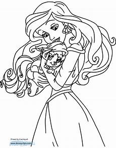 Ausmalbilder Prinzessin Hund Palace Pets Coloring Pages 2 Disneyclips
