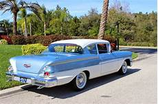 Chevy 1958 Biscayne all american classic cars 1958 chevrolet biscayne 2 door
