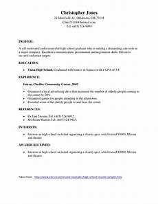 13 achievements for resume high school student blank invoice