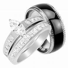 laraso co his hers wedding rings cheap matching