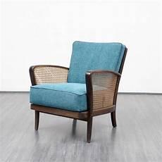 fauteuil bleu canard fauteuil bleu canard et maille 1950 design market