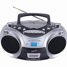 usb cd player supersonic portable mp3 cd player with cassette recorder