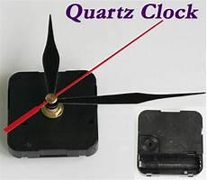 Black Quartz Clock Silent Movement by Quartz Clock Mechanism Silent Movement Parts Repair Kit