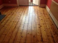 on the floor original wooden flooring that looks like original floor boards