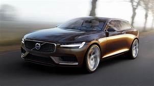 Volvo Car Group Unveils Concept Estate At Geneva Motor